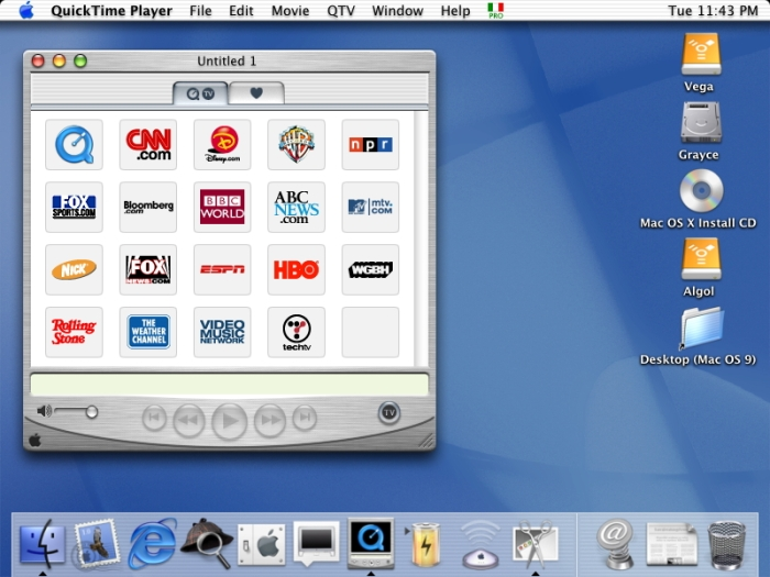 QuickTime Player 5.0