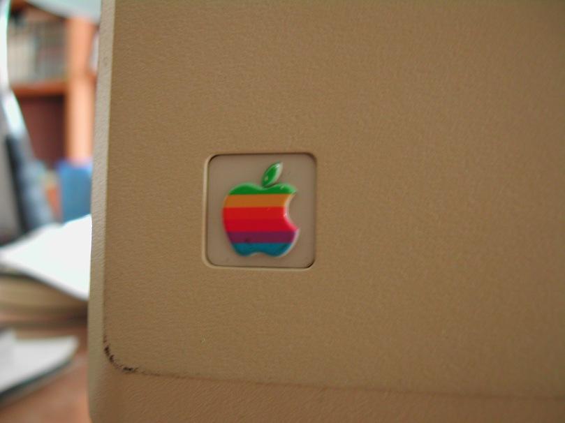 Mac 128k Logo