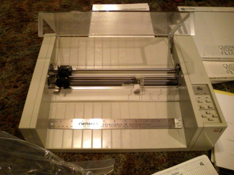 Apple Color Plotter