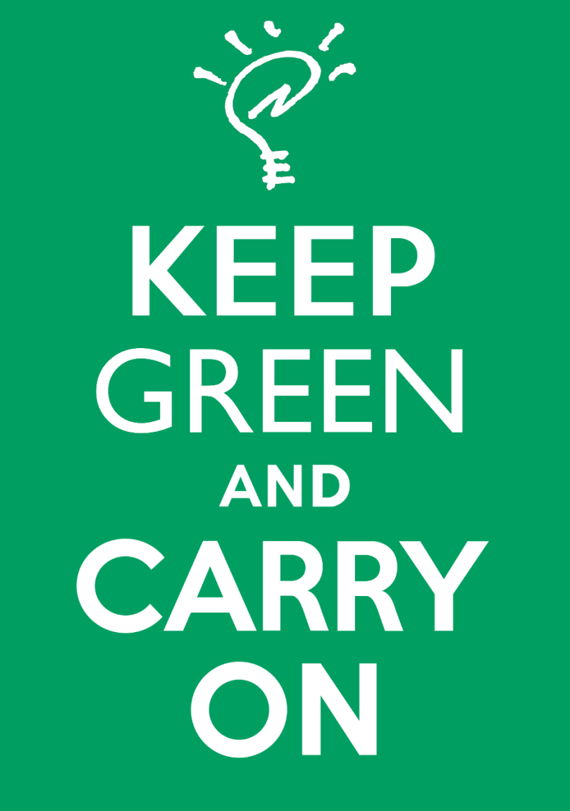 Keep Green and Carry On