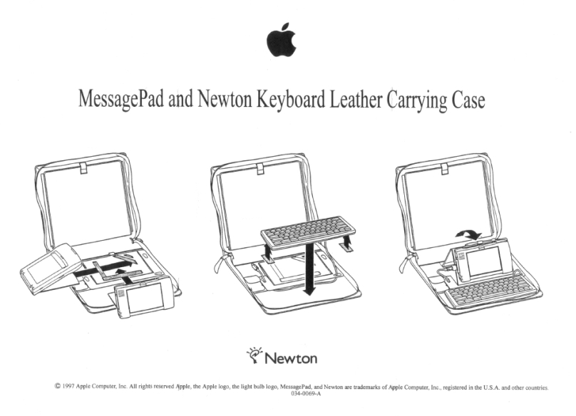 Newton Carrying Case sheet