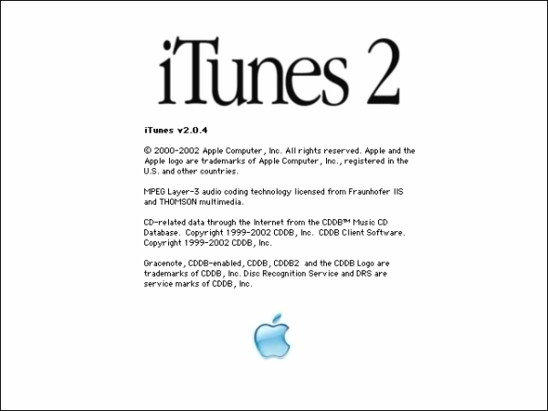 iTunes 2 for Mac OS 9 – System Folder