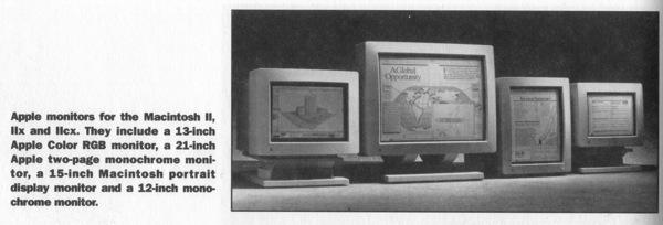 Apple monitors