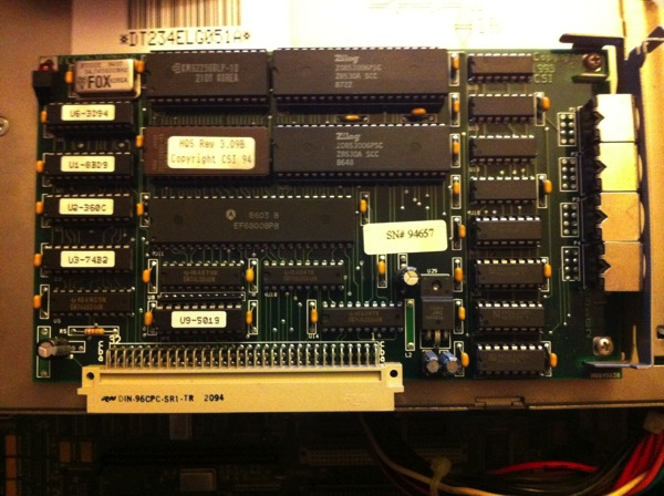 4 serial ports card
