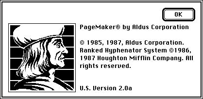 Aldus Pagemaker 2