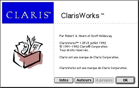 ClarisWorks 10Fv3