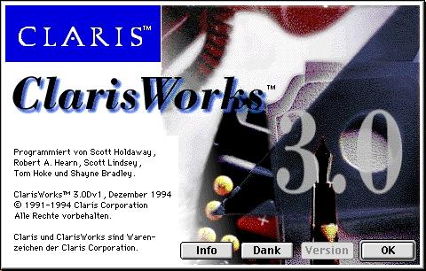 ClarisWorks 3D