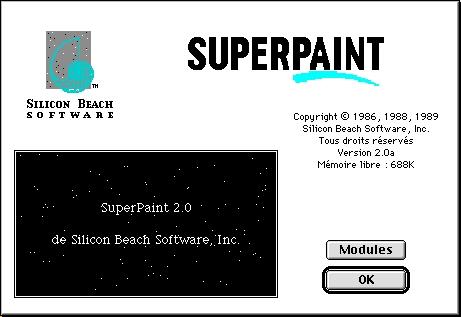 Superpaint 20aF