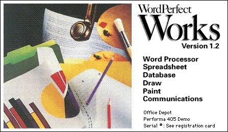 WordPerfect Works 1