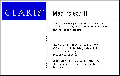 MacProject II