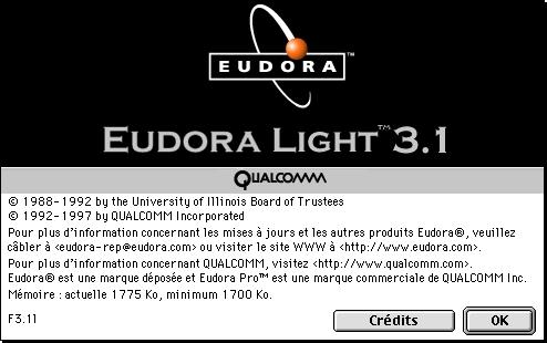 Eudora Light 3F