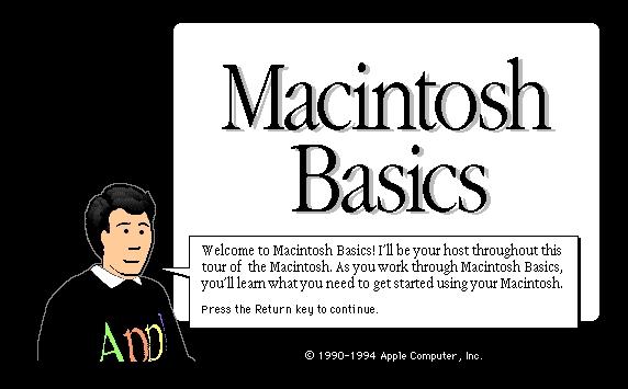 Macintosh Basics 503