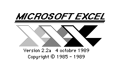 Excel 22aF