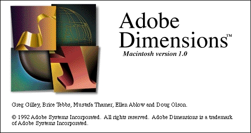 Dimensions 1