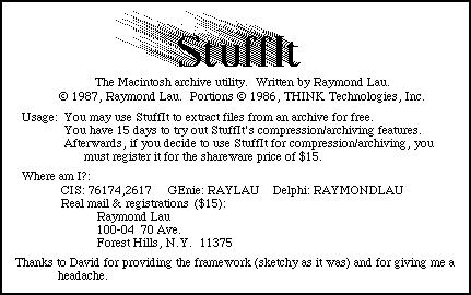 StuffIt 1