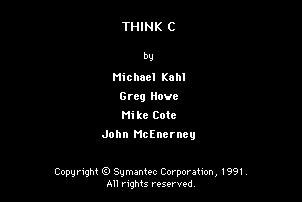 Think C 5