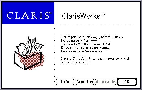 ClarisWorks 21E