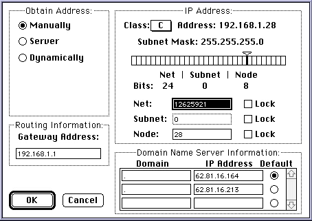 MacTCP setup
