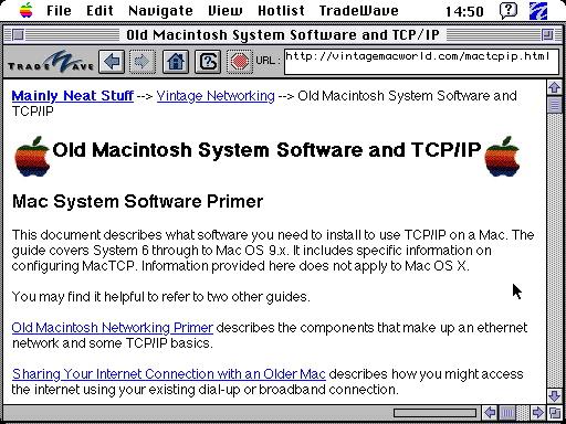MacWeb 2.0