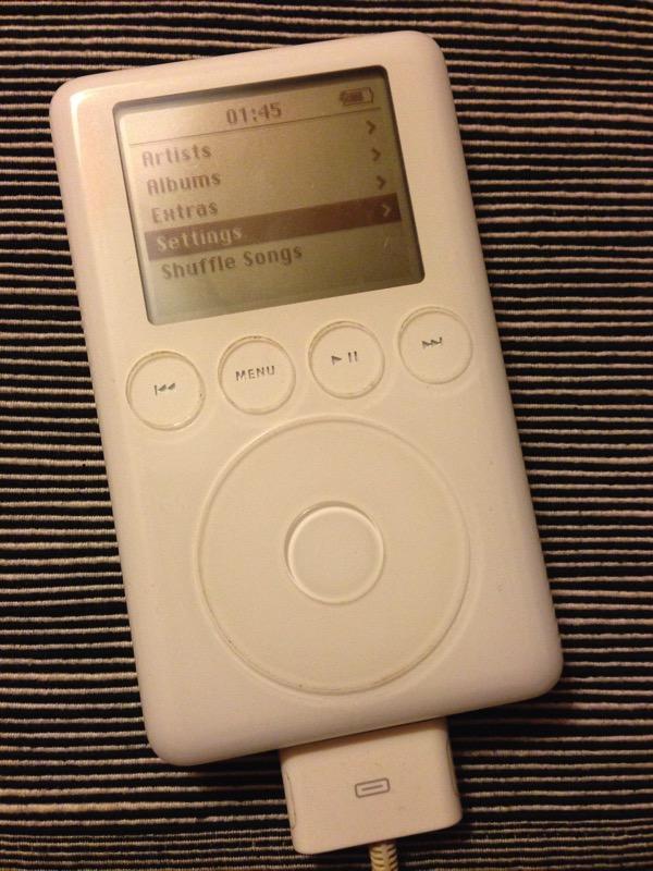 Working iPod