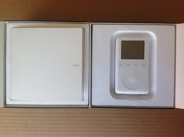 iPod 3G in box
