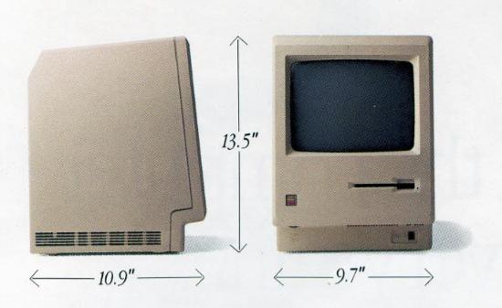 Macintosh measurements
