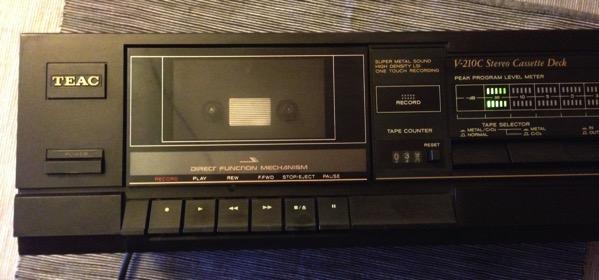 TEAC cassette deck