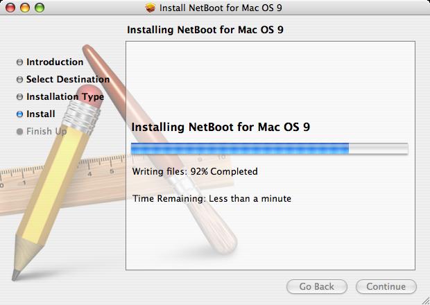 Installing NetBoot